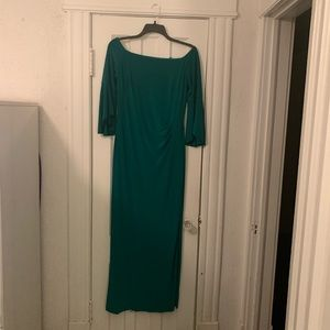 Emerald green Ralph Lauren dress size 12